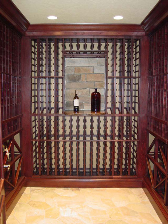 Wine cellars liberty closet systems inc liberty closet for Turn closet into wine cellar